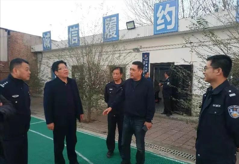 全力护航西安地铁一号线三期建设 秦都公安民警奔赴工作岗位