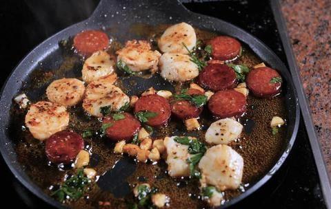香辣炒扇贝,鲜香开胃超下饭,10分钟快手家常菜,营养又美味