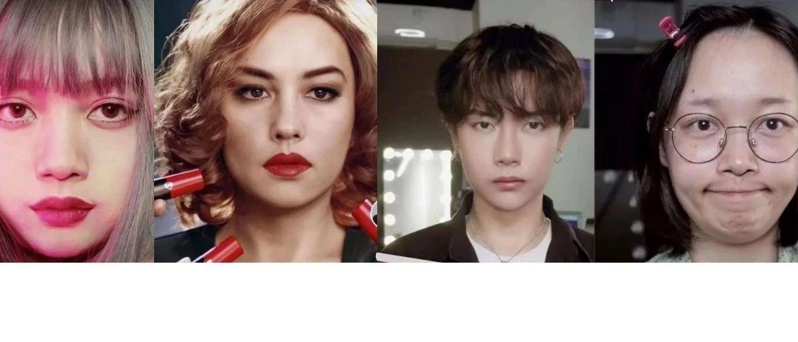 20岁女生化妆成吴彦祖、易烊千玺、黄渤、科比……