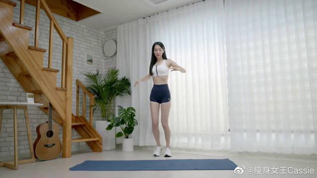 10分钟韩国超流行的 KPOP燃脂舞,音乐超赞,春节不发胖