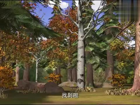 熊出没:吉吉和表哥长得太像,光头强要归还果子,产生误会!