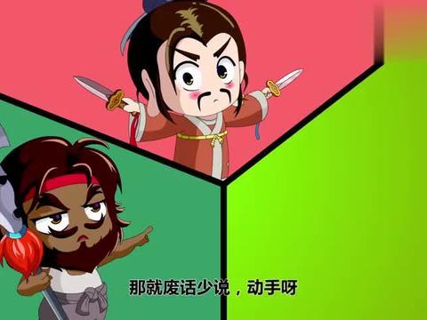 主公在哪:刘关张三人比武,关羽张飞两败俱伤,刘备捡了个便宜!