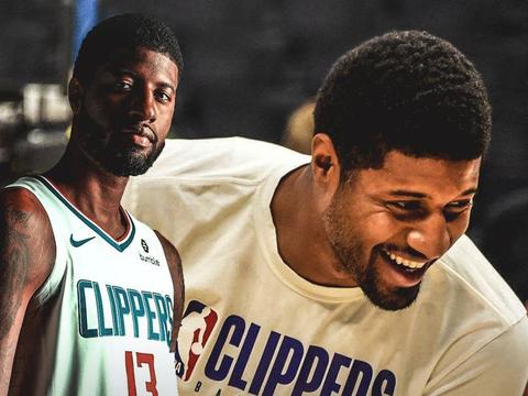 NBA现役巨星里最容易被打脸的就是乔治了,快船队首次遭遇三连败