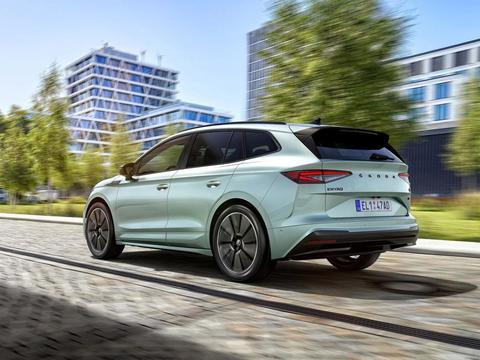 斯柯达旗下的新能源车型,年轻动感的造型设计,你难道不心动?