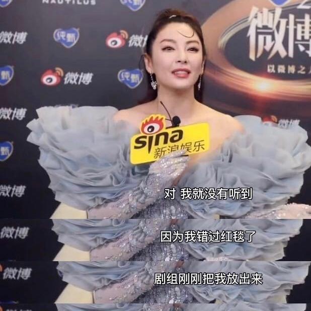 电视剧盛典红毯:路人镜头下的杨紫,李现帮忙提裙子又提了个寂寞