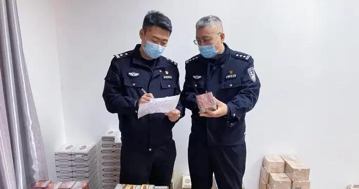 石家庄海关查获涉嫌走私雪茄5.8万支