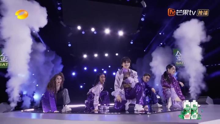 湖南卫视乘风破浪 紫色,优雅而神秘👾 周笔畅 董洁 弦子 张馨予