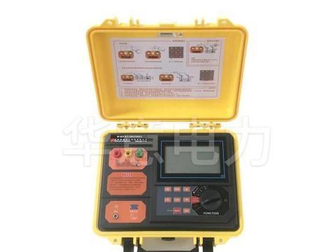 数字式接地电阻测试仪怎么使用