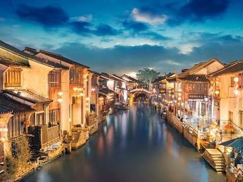 """浙江耗资139亿建""""假古镇"""",占地1679亩,不及乌镇但值得一去!"""