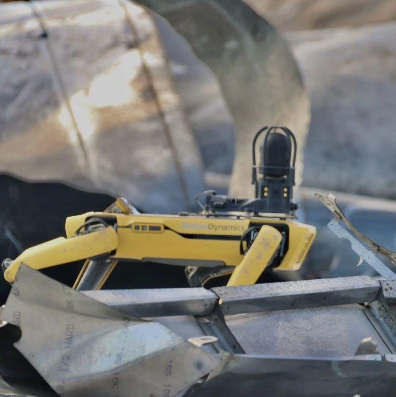 马斯克雇机器狗勘察火箭爆炸现场,网友:《黑镜》现实版