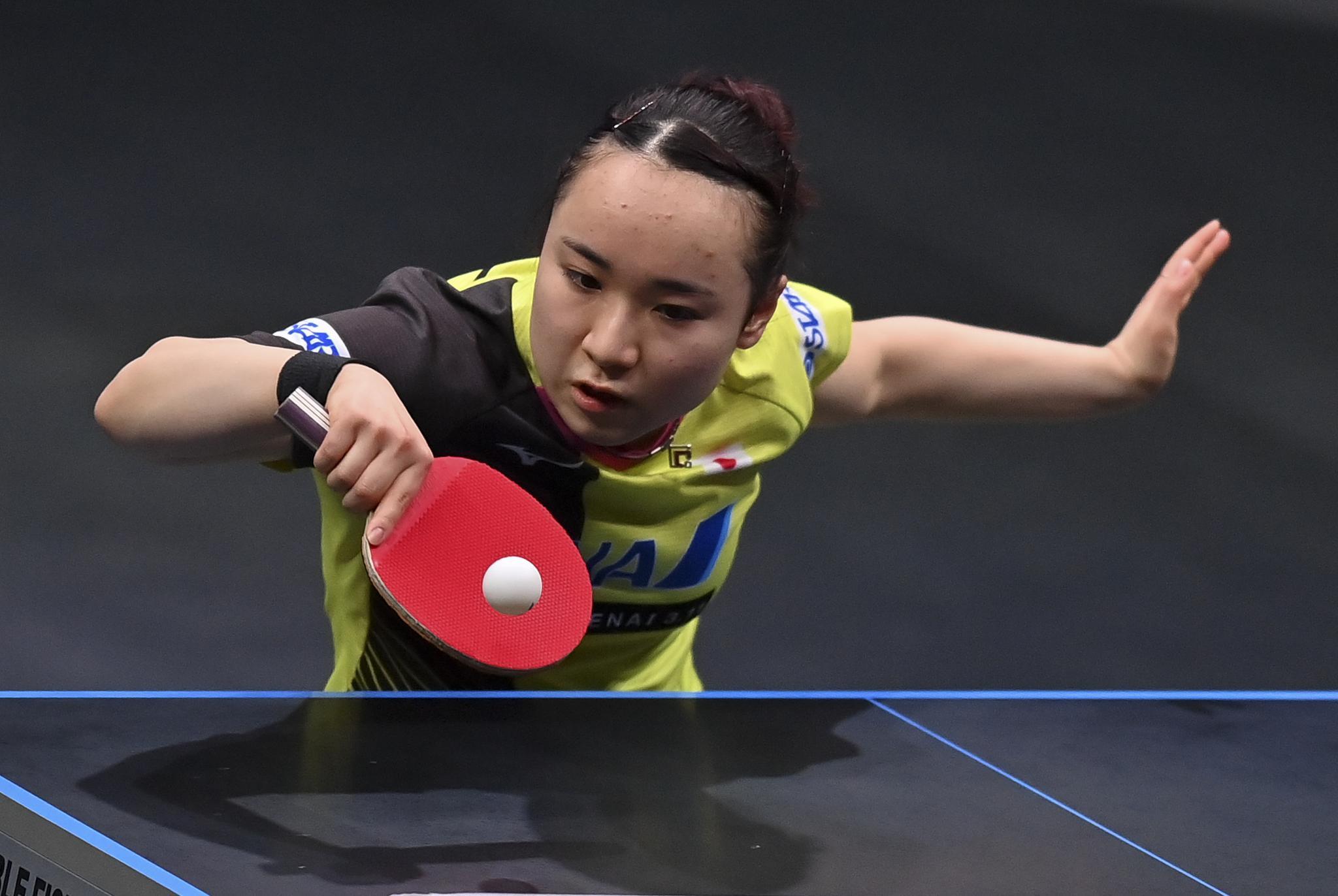 乒乓球——多哈WTT挑战赛:伊藤美诚晋级决赛