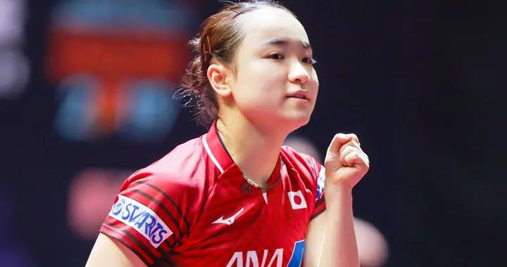 伊藤美诚打疯了!连赢2位世界冠军进决赛,国乒退赛后她无敌了?