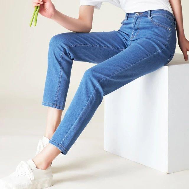 一条牛仔裤,可以多舒服:柔软亲肤、透气抗菌、无拘无束