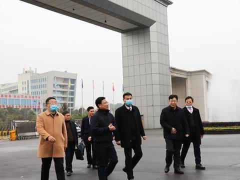 深化产教融合校企合作,省教育厅副厅长王仁祥调研湖南工商职院