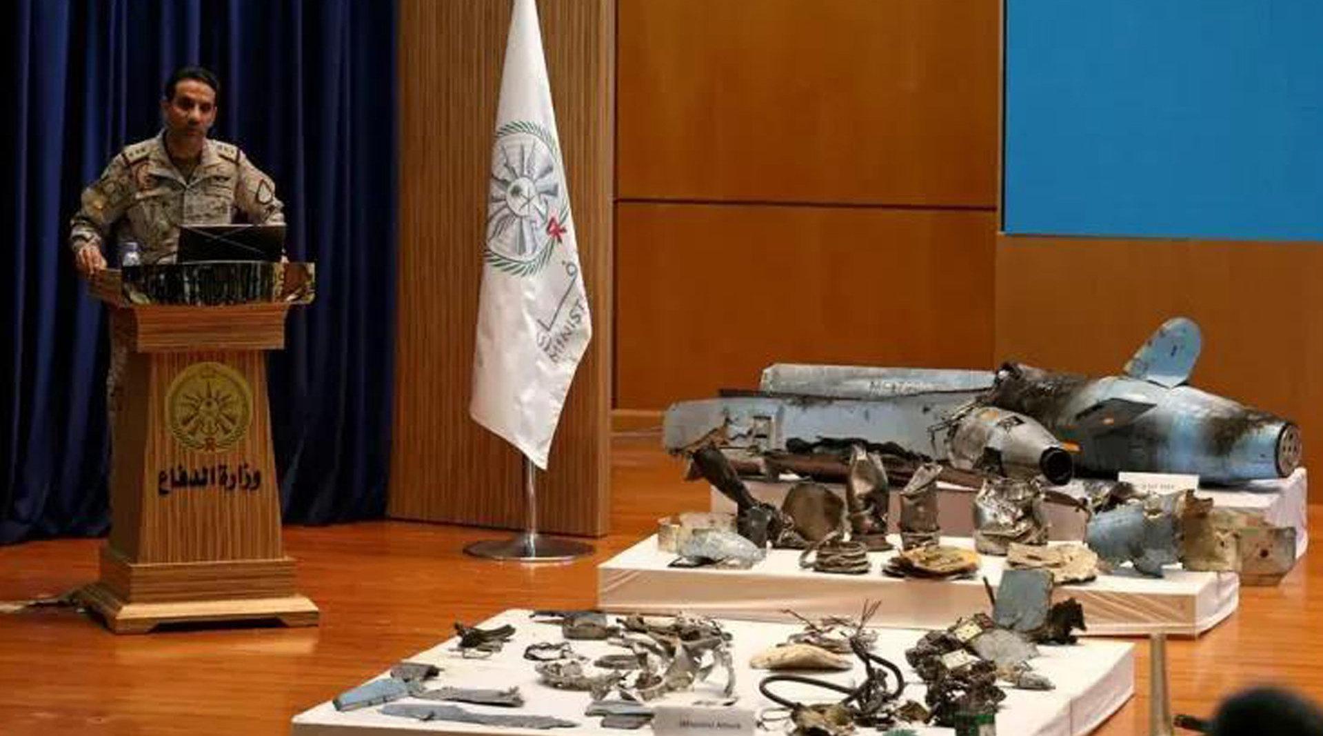 沙特石油重镇遭袭击 对手动用8枚导弹14架无人机