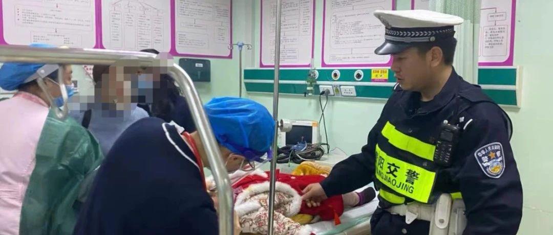 女童昏迷休克急需救治,贵阳交警开道仅五分钟及时送医