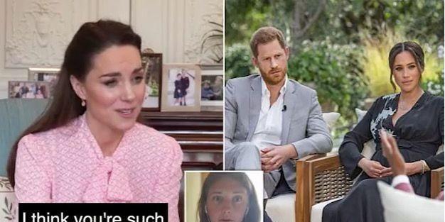英国王室再起争议,梅根被曝有自杀倾向,凯特琳春风得意
