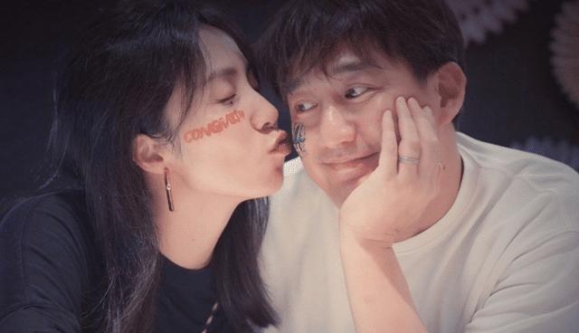 """黄磊孙莉亲密贴脸,佟大为的""""面条之吻""""很甜"""