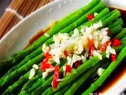 初春时节有哪些时令菜?芦笋有不少人都喜欢吃,但是却不会烹饪