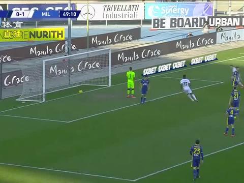 意甲联赛:完胜维罗纳,AC米兰取三分