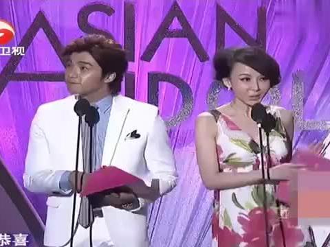罗晋和甘婷婷荣获大奖!一个帅气一个漂亮,两人在台上太养眼了