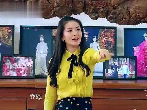 谢娜模仿陈乔恩的台湾腔,模仿的出神入化,陈乔恩笑到停不下!