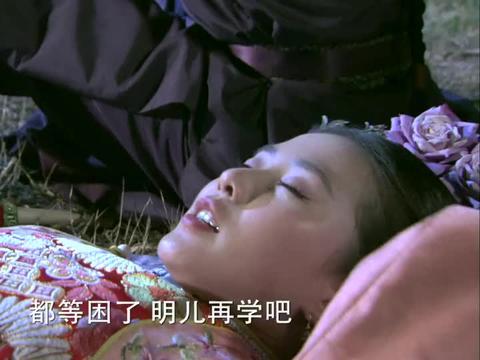 步步惊心:若曦躺在草地上看星星,碰上四爷,老鼠见了猫