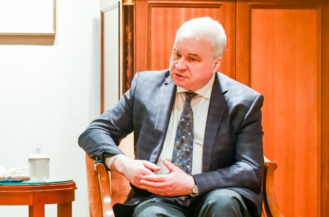 独家专访俄罗斯驻华大使杰尼索夫