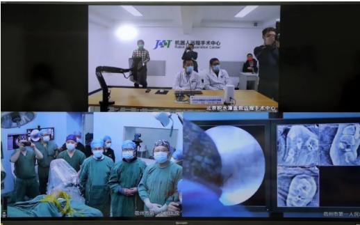 借助天智航天玑骨科手术机器人 积水潭医院完成首例5G远程手术