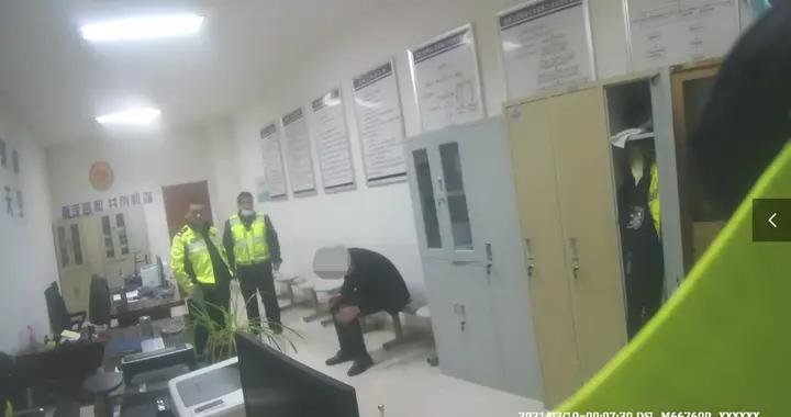 这是搭错了哪根神经?醉驾司机竟在交警队翻墙逃跑