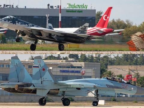 两个消息传来:土俄合作又峰回路转,苏-35和苏-57都可以卖