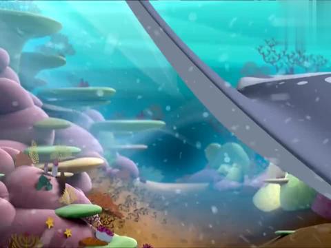 跟着磷虾一起,大家找到了神秘圈,却发现聚餐还没有开始!