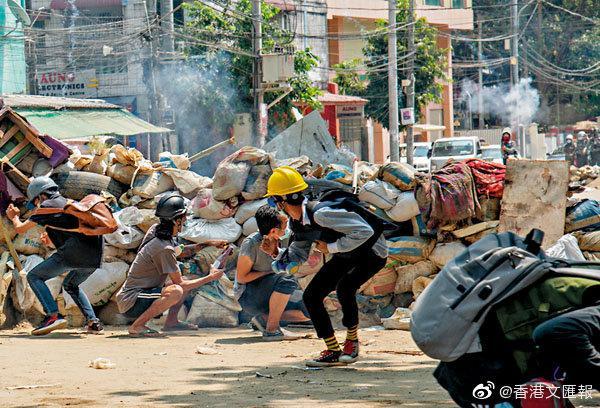 缅军拘索罗斯基金会高层 涉金援示威者