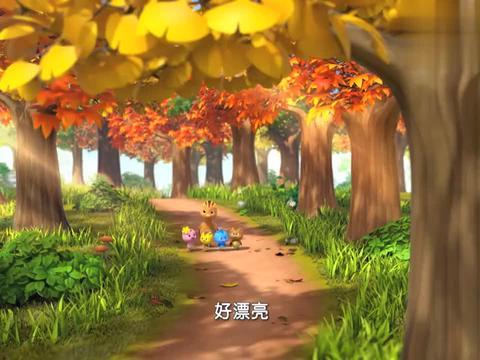 萌鸡小队:大宇哥哥真是小馋鸡,一提到果子,马上就饿了呢!
