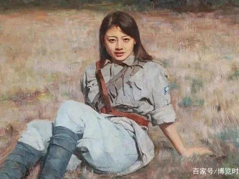 红军女战俘舞鞋砸向白崇禧