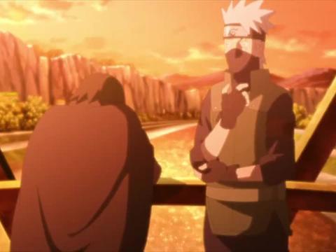 火影忍者:卡卡西和佐助聊亲热天堂的时候,旁边跑步的是哪两个
