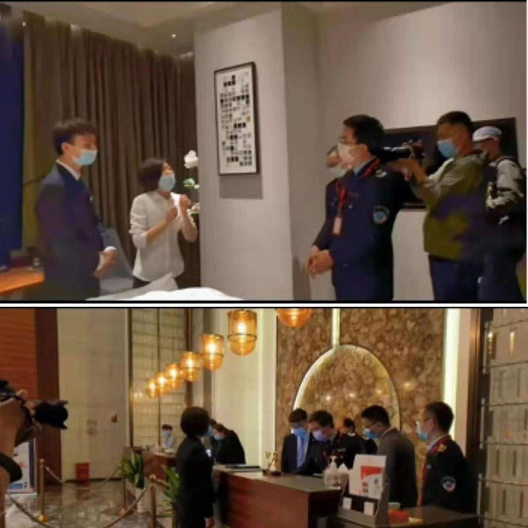 江西两高档酒店被罚!