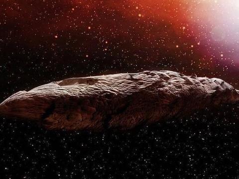 """科学家提出""""奥陌陌""""的新观点,是从矮行星掉下来的行星碎片?"""
