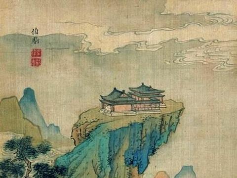 山水楼阁,美不胜收,吴达绘《仿古山水册》