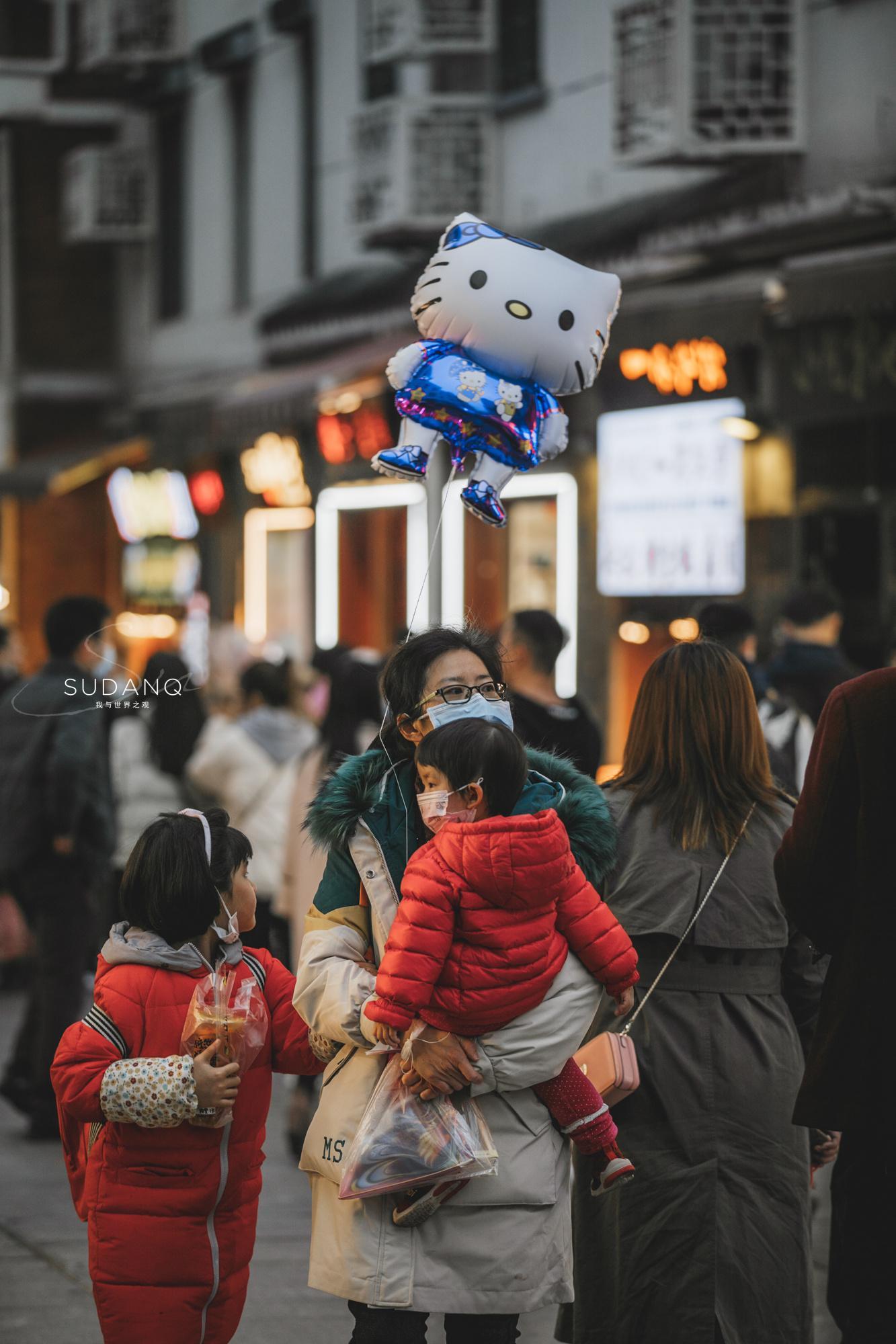 又一次来到武汉户部巷,改造后的变化挺大……