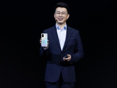 荣耀V40轻奢版发布,延续10亿色屏和超级快充,设计再突破