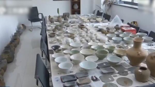 常州一工地古墓群大量文物遭盗卖:已追回3519件
