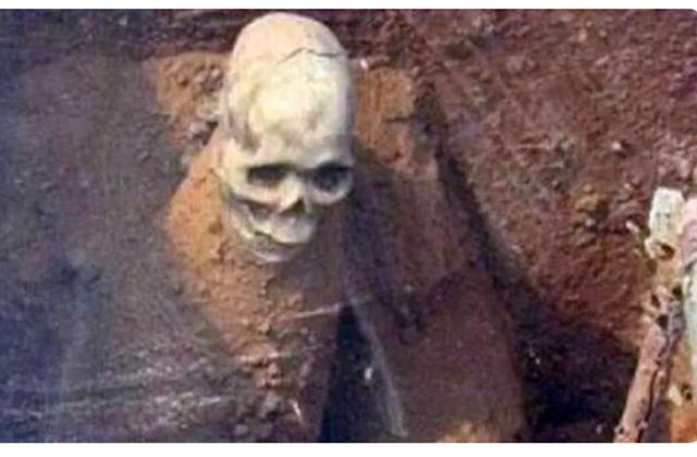 陕西挖出武则天孙女墓,墓中有一位盗墓贼,在金堆中坐化上千年