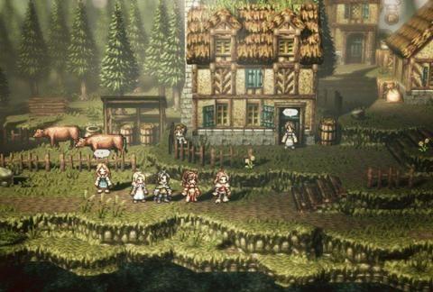 《八方旅人》上架Epic,首销优惠价格低于Steam史低价