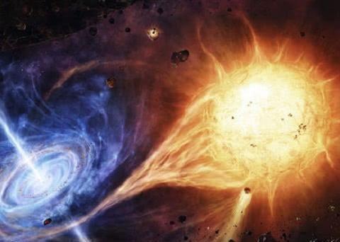 超越光速是什么概念?当20公斤的铁球以光速撞向地球,会发生什么