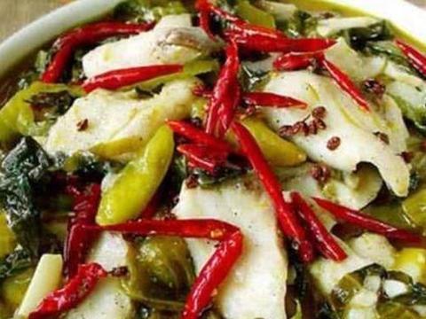 美食精选:酸菜鱼,茄汁虎皮蛋,麻辣鱼泡,麻辣茄条的做法