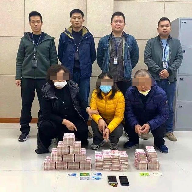 宜州警方跨越两省破获一起电信诈骗案件,缴获赃款192万元
