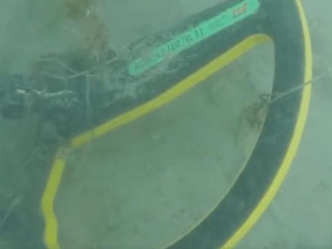 男子潜水听到探测器作响,伸手摸到金项链,仔细看当场报警