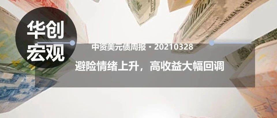 【华创宏观·张瑜团队】避险情绪上升,高收益大幅回调--中资美元债周报20210328
