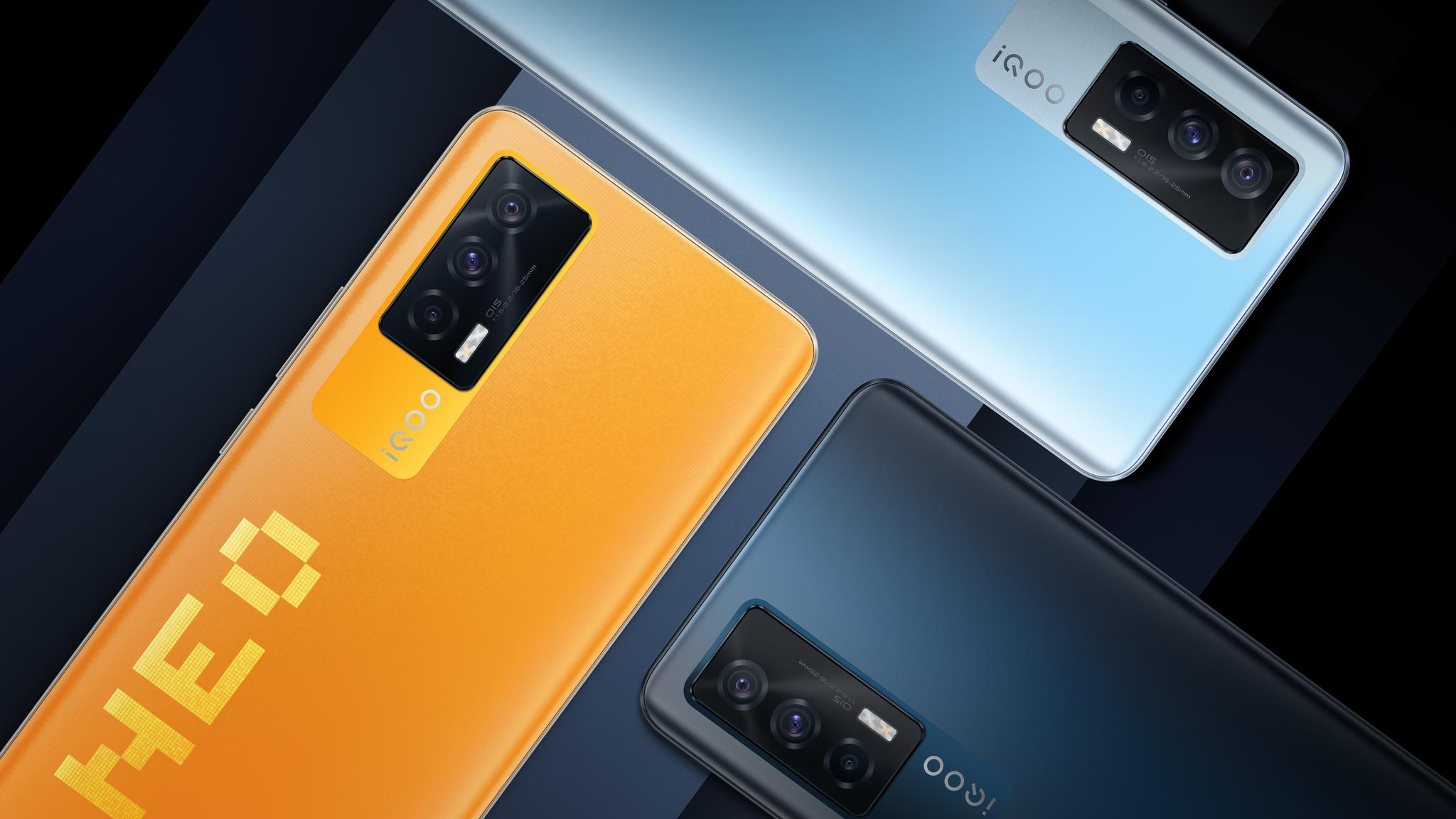 iQOO Neo5像素橙配色来了